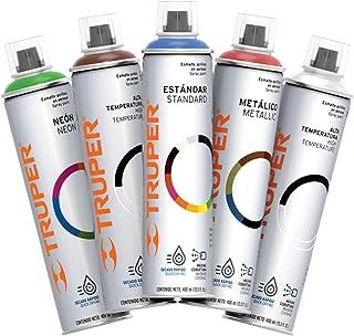 Truper PAM-PL, Pintura en, Aerosol, color metálico, 400 ml,