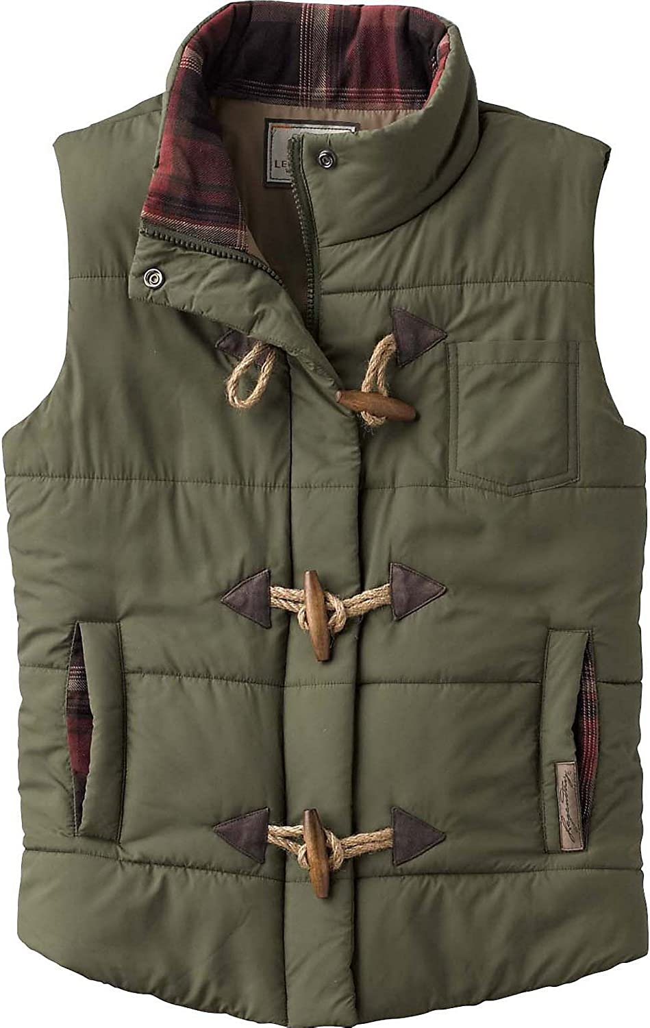 Legendary Whitetails Womens Quilted Vest: Clothing