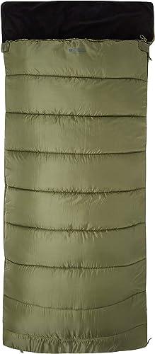 Mountain Warehouse Saco de Dormir Sutherland - Saco de Dormir con Aislamiento térmico de Fibras Huecas, Saco extracál...