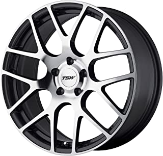 TSW Alloy Wheels Nurburgring Gunmetal Wheel with Machined Face (18x8