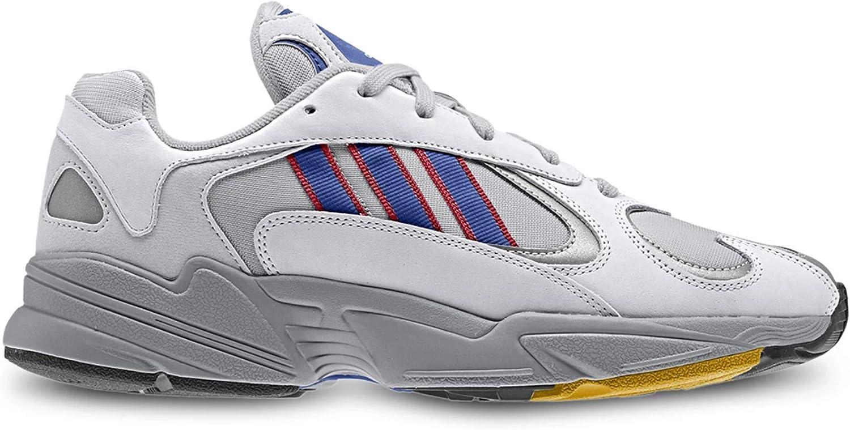 Adidas Originals Herren Turnschuhe Yung-1 Turnschuhe Gretwo Croyal Scarle Scarle grau 41 1 3  Neuheiten