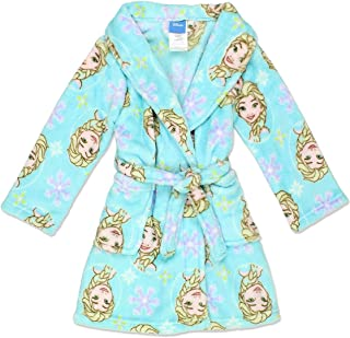 Frozen Elsa Toddler Girl's Fleece Bathrobe Robe