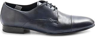 SANGIORGIO Zapato Derby Piel tamponada Azul - 180 Softy Azul - Talla