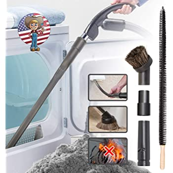 Amazon Com Smart House Inc Dryer Vent Cleaner Kit 20 Feet Innovative Lint Remover Reusable Strong Nylon Flexible Lint Brush Home Kitchen