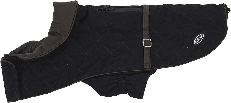 Kruuse Buster City Waterproof Dog Fashion Coat (XSmall) (Black)