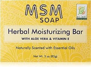 At Last Naturals Msm Herbal Bar 3 OZ (7 pack)