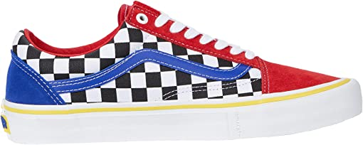 (Brighton Zeuner) Red/Checker/Bliue