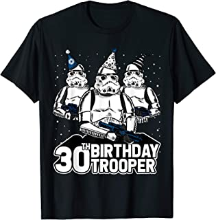 Stormtrooper Party Hats Trio 30th Birthday Trooper T-Shirt