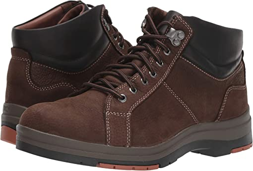 Dark Brown Oiled Waterproof Nubuck