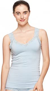 Lace Strap Cami with Shelf Bra #383