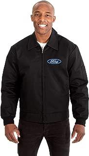 Ford Motor Company Men's Mechanics Jacket with Front & Back Emblems