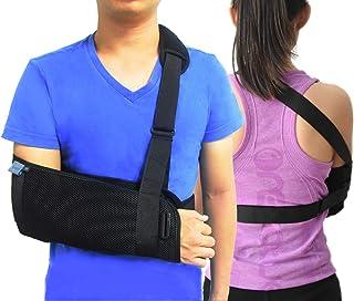 Brazalete ortopédico médico para brazo, hombro, inmovilizador, muñequera, codo, antebrazo, correa ligera para brazo roto y...