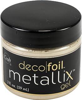 Thermoweb DFGEL-5542 Deco Foil Metallix Gel 2oz-Champagne Mist