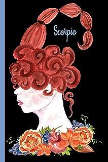 Scorpio - Scorpion, Water Sign: Zodiac Notebook Journal