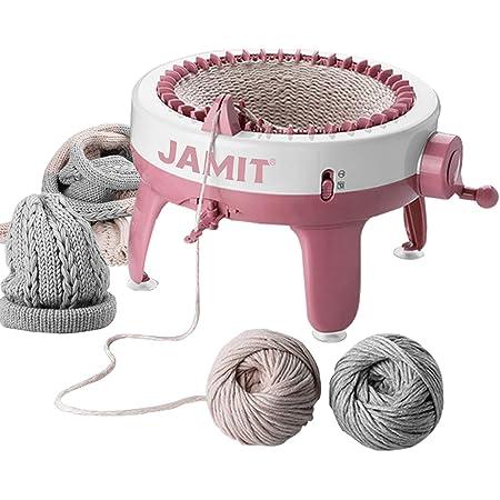 Métier à tricoter, 40 aiguilles à tisser intelligent métier à tisser métier à tisser rond, planche à tricoter Kit de machine à tisser double métier à tisser pour adultes et enfants