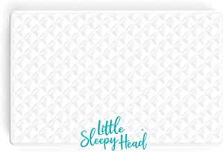 Little Sleepy Head Soft, Waterproof Portable Crib Mattress Protector for Pack n Play & Play Yards