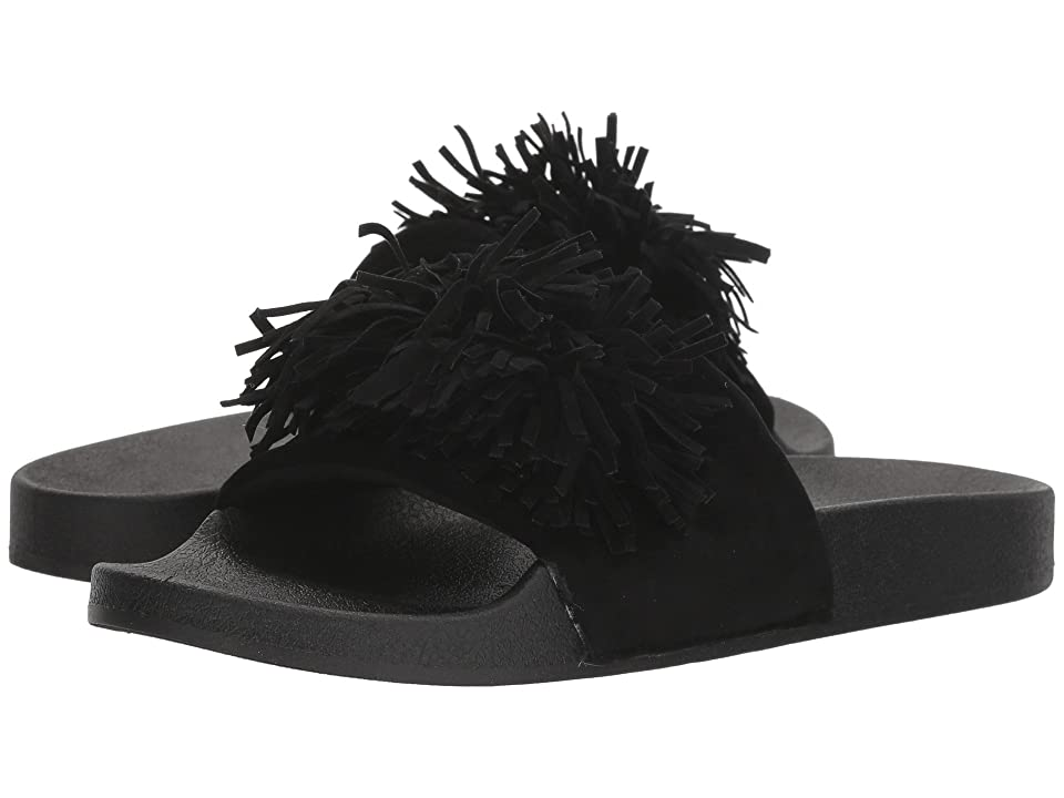Dirty Laundry Faron Jelly Pool Slide (Black Jelly) Women