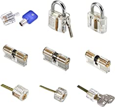 clear lock for lock picking
