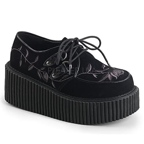 30895695cc9 Demonia Women s CREEPER-219 Platform Creeper Black