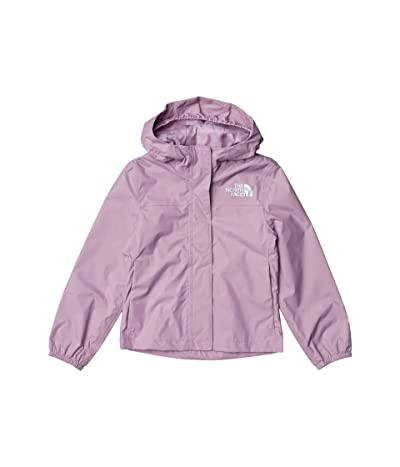 The North Face Kids Resolve Rain Jacket (Little Kids/Big Kids) (Lavender Mist) Girl