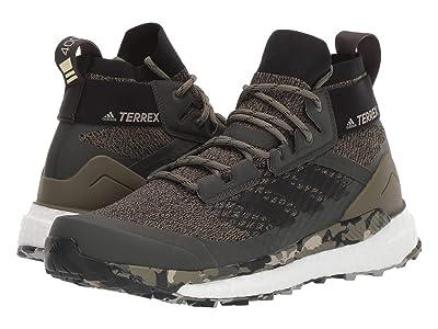 adidas Outdoor Terrex Free Hiker (Raw Khaki/Black/St. Desert Sand) Men