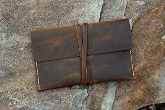 Distressed leather Paperwhite case cover/Simple retro brown leather Paperwhite cover case KDX05S-S
