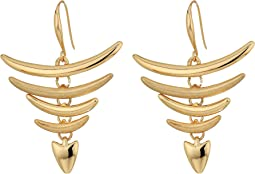 Robert Lee Morris - Gold Chandelier Drop Earrings