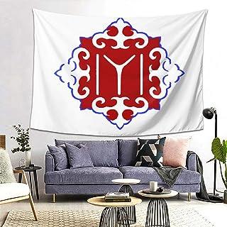 ZHONGchangx Kayi Tribe IYI Flag Tapestry Wall Hanging Decor Blanket Tapestry Wall Tapestry Wall Blanket 80x60 in