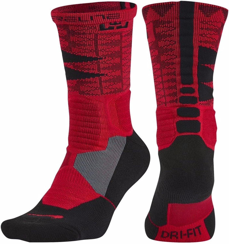 Nike Men's Hyper Elite Basketball Crew Socks