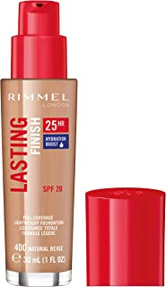 Rimmel London Lasting Finish Foundation 25H Base de Maquillaje Tono 400 - 30ml