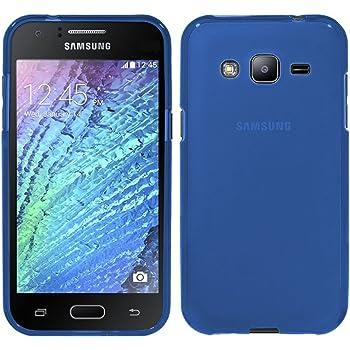TBOC® Funda de Gel TPU Azul para Samsung Galaxy J3 (2016): Amazon ...