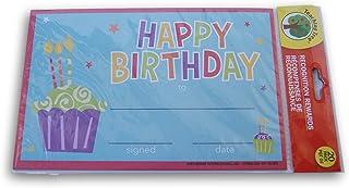 教学树课堂证书 - 生日快乐纸杯蛋糕 - 20 个装