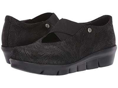 Wolky Cursa (Black Palm Metal Suede) Women