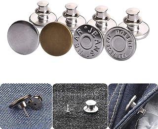 Knoopspelden voor jeans, broekknoopspelden Instantknopen Jean-knoop voor broek Mode Jeans Swing Crafts DIY, gemakkelijk te...