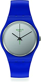 Swiss Quartz bio-sourced Plastic Strap, Blue, 18 Casual Watch (Model: SO28N100)