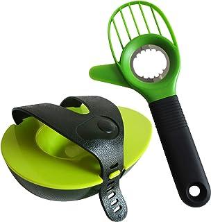 Heych Avocado - Set de Cortador de Aguacate Multifuncional y