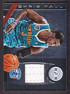 2013-14 Totally Certified Materials Jersey #169 Chris Paul New Orleans Hornets