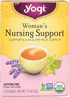 Yogi Womans Nursng Support Tea 16 ea ( pack of 3)
