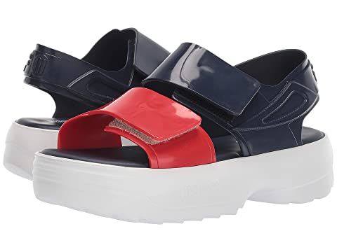 + Melissa Luxury Shoes x Fila Sandal