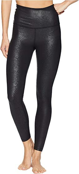Viper High-Waisted Midi Leggings