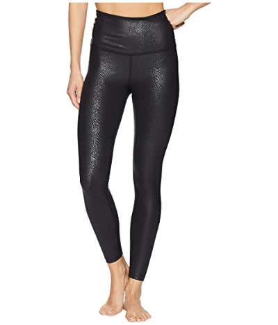 Beyond Yoga Viper High Waisted Midi Leggings (Viper Black 1) Women