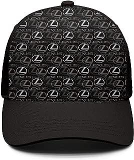 Man Baseball Cap Lexus-is-Lexus-a-Luxury-car-Silvery- Popular Peaked Cap Sport Hat Snapback Hat Mens Trucker Hat Motion