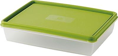 ダロプラスト 保存容器 北欧 スウェーデン製 オリーブ 1.0L ランチボックス 377-37