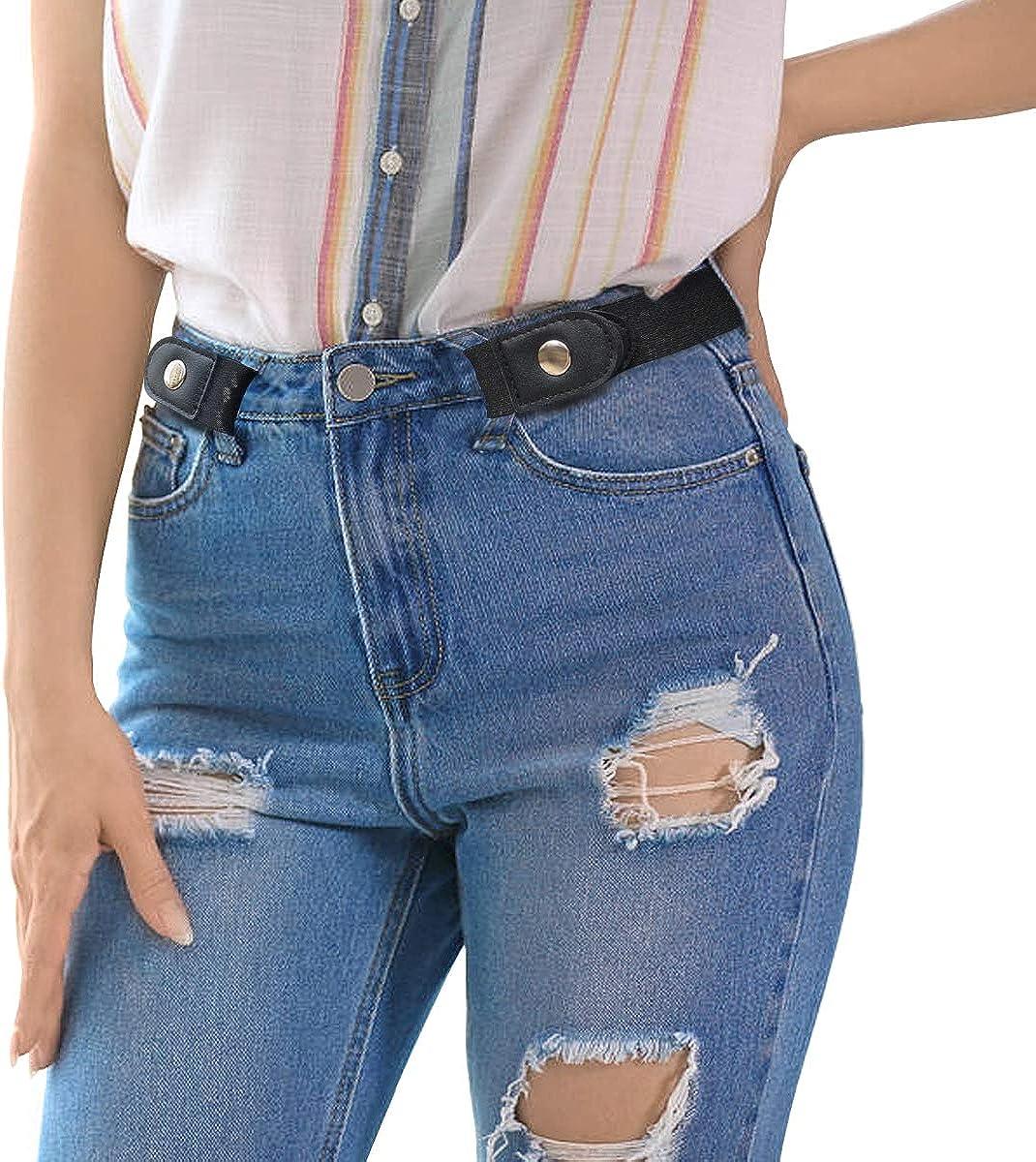 No Buckle Stretch Belt for ILIVABLE Superlatite Women Brand Cheap Sale Venue Backing Men Non-Slip