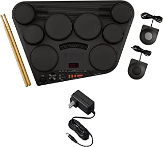 Yamaha DD75AD Portable Digital Drums Package with 2 Pedals, Drumsticks - Power Supply Included