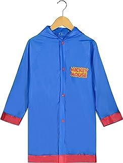 f521aff1b Disney Mickey Mouse Little Boys' Waterproof Outwear Hooded Rain Slicker -  Toddler
