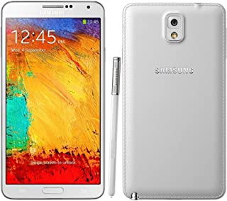 Samsung Galaxy Note 3 N900A 32GB Unlocked GSM Octa-Core Cell Phone - White (Renewed)