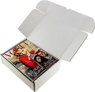 10 cajas blancas C4 A4 para envío de pasteles, 30 cm x 23 cm x 10 cm, para: fotos, revistas, zapatos, juguetes, impresos, libros, ropa, etc.