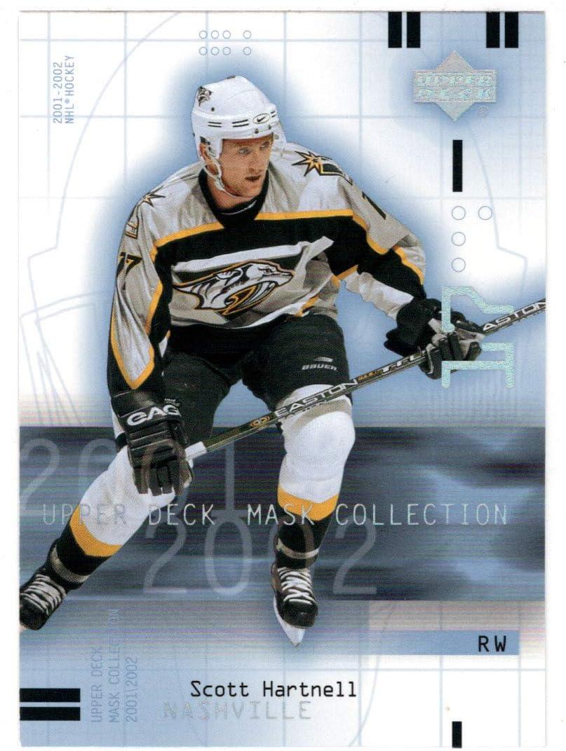 Scott Hartnell - Nashville Free Shipping Cheap Bargain Gift Predators 2001-02 Card Upper Hockey Ranking TOP20