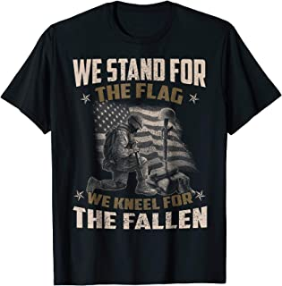 Veteran Gift, We Stand For The Flag, We Kneel For The Fallen